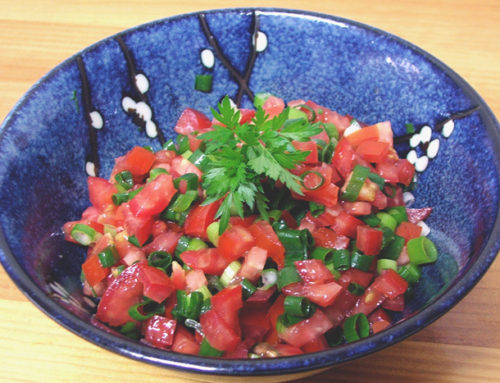 LASARY VOATABIA( Tomato and Scallion Salad )