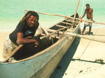 Fishing Pirogue Madagascar
